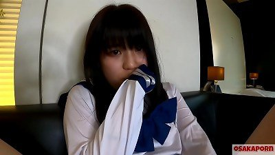 legal years old teen chinese with puny jugs unloads and gets climax with finger pulverize and hookup toy. amateur japanese with school costume cosplay gives deep throat deeply. Mao 7 OSAKAPORN